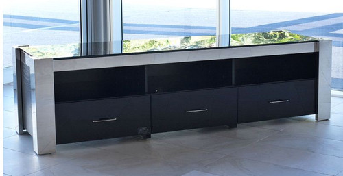 FRAN ENTERTAINMENT UNIT WITH 3 DRAWERS - 750(H) x 1800(W)