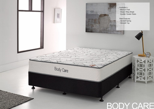 SINGLE BODY CARE TIGHT TOP MATTRESS - MEDIUM FIRM