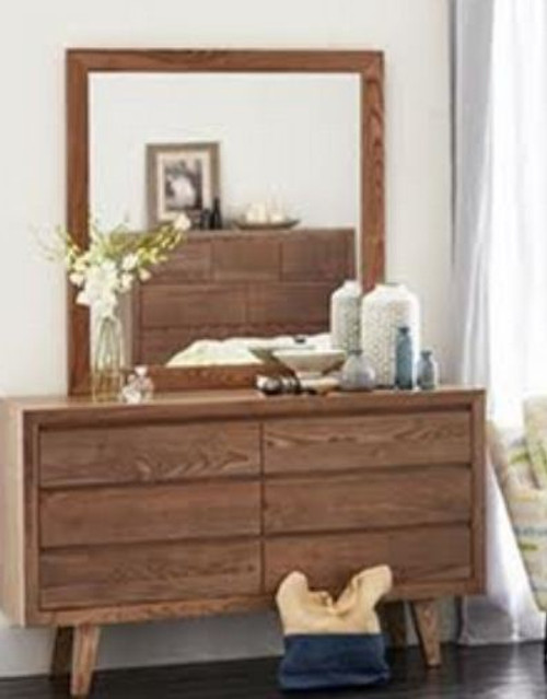 OHKLAHOMA   DRESSING TABLE WITH MIRROR - ( MODEL 1-19-3-5-14-19-9-15-14)  800(H) X 1400(W)