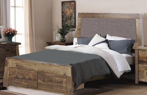 KING  TARTIS BED  WITH UNDERBED STORAGE -  (MODEL-19-25-12-22-1-14)   -  AS PICTURED