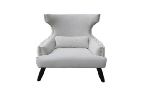 LARSAMER (V-149)  ARM CHAIR    -   BEIGE