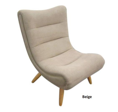 SMARTIE   (V-230)  FABRIC LEISURE CHAIR - BEIGE