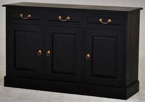 TASMANIA  3 DOOR 3 DRAWER BUFFET (SB 303 PN(C) -900(H) X  1450(W) - CHOCOLATE
