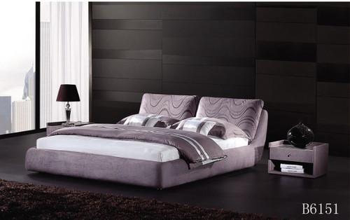 PHAROAH (B6151) QUEEN  FABRIC 3 PIECE  BEDSDE BEDROOM  WITH #127 BEDSIDE - ASSORTED COLOURS