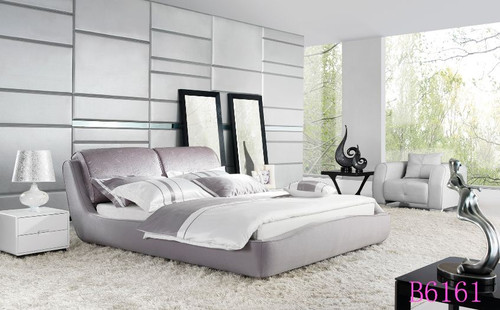 KING  ESSENCE   FABRIC   BED (B6161) - ASSORTED COLOURS