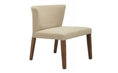 RHODA FABRIC   DINING CHAIR  - CITRINE
