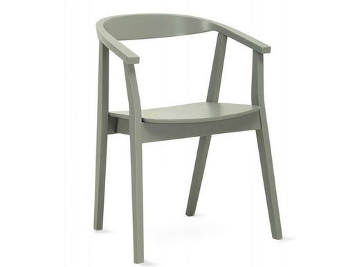 GRETA MODERN  DINING CHAIR (SET OF 2) -  GREY