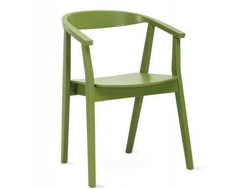 GRETA MODERN  DINING CHAIR (SET OF 2) -  GREEN