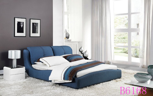 IRENE (B6168)  QUEEN  FABRIC 3 PIECE   BEDSIDE BEDROOM SUITE WITH #151 BEDSIDES  - ASSORTED COLOURS
