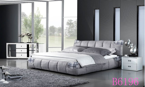 CHEMSFOLD KING  3 PIECE   BEDSIDE BEDROOM SUITE (B6196) WITH (#152) BEDSIDES  - ASSORTED COLOURS