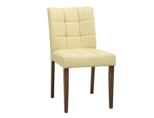 DAVIN MODERN  DINING CHAIR (SET OF 2) -  CREAM
