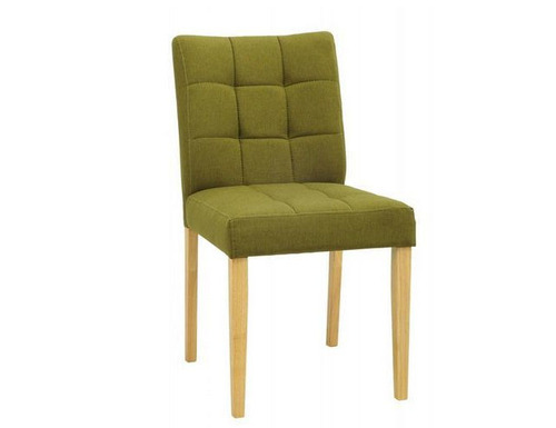 DAVIN FABRIC DINING CHAIR (SET OF 2) -  OLIVE