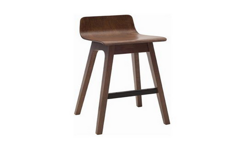 AVA  MODERN BAR STOOL - SEAT: 890(H) - WALNUT
