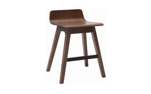 AVA  MODERN BAR STOOL - SEAT: 890(H) - WALNUT