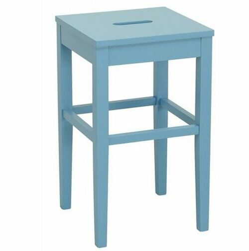 DAMA  COUNTER STOOL - SEAT: 600(H) - DUST BLUE