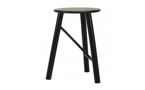 ELKA MODERN BAR  STOOL - SEAT: 740(H)  - EBONY