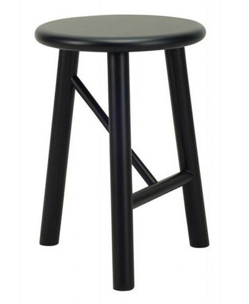ELKA MODERN STOOL - SEAT: 450(H)  - EBONY