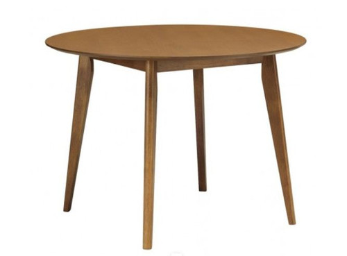 ARTHUR ROUND DINING TABLE - 1050(DIA) - COCOA
