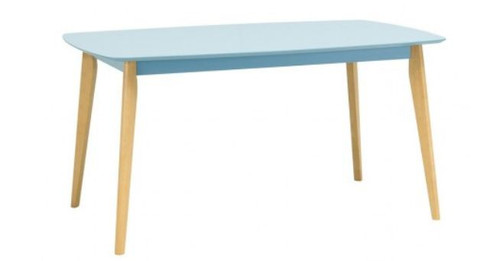 ARTHUR DINING TABLE - 1500(L) X 900(W) - DUST BLUE