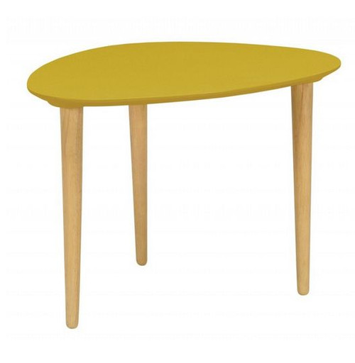 COREY MEDIUM OCCASIONAL  TABLE - OLIVE YELLOW