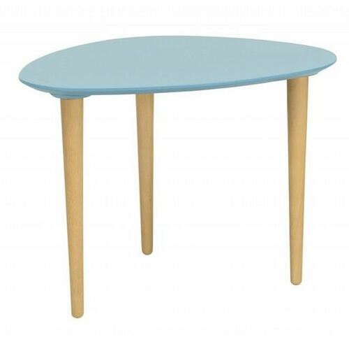COREY MEDIUM OCCASIONAL  TABLE -  DUST BLUE