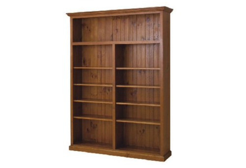 AUSSIE (7x5) ADJUSTABLE BOOKCASE - 2100(H) x 1500(W) - (LOCAL MADE) - ASSORTED COLOURS