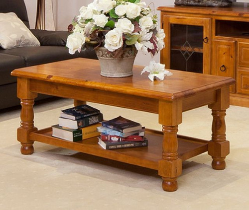 (MCOT-4C) COFFEE TABLE  - 1200(W) X 600(D)- OLD ENGLISH