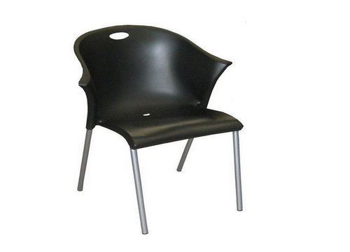 BLUM   DINING CHAIR  - BLACK