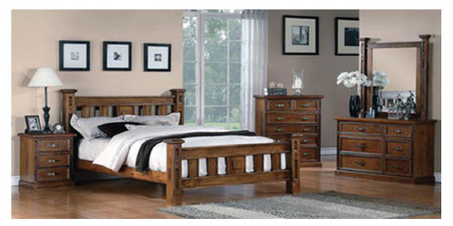 GLEN DOUBLE OR QUEEN 6 PIECE (THE LOT)  BEDROOM SUITE