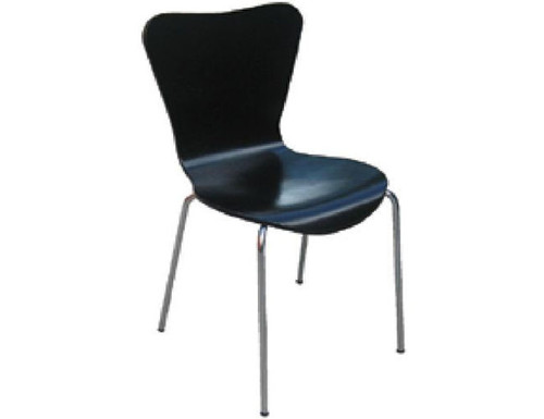 CLEMENT DINING   CHAIR  -  BLACK