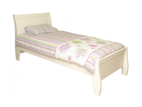 QUEEN ERINA BED - WHITE OR ANTIQUE WHITE