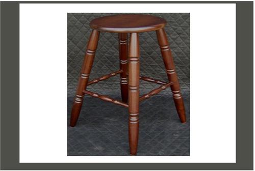 MORRIS BAR  STOOL -  SEAT: 690(H) - WALNUT
