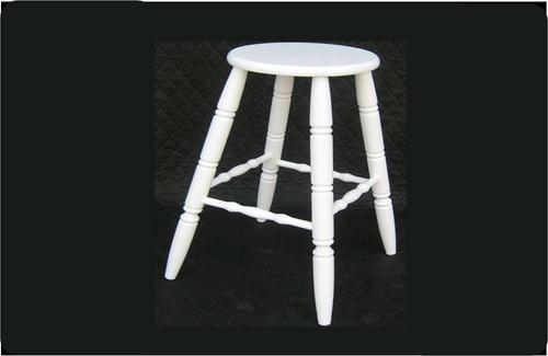 MORRIS BAR  STOOL -  SEAT: 690(H) - WHITE