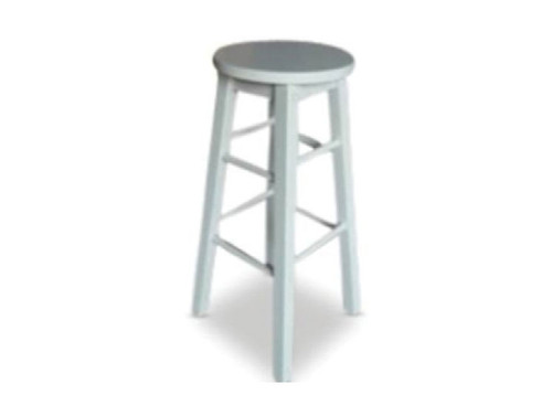 MISSION  BAR  STOOL - SEAT: 690(H)  - WHITE