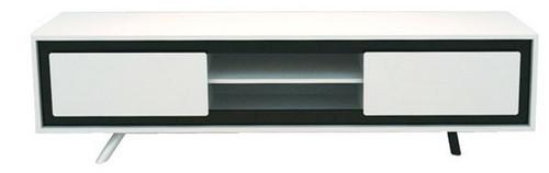 CALI  TV STAND  (WD-168)  - 480(H) x 1800(W)  - HIGH GLOSSY  WHITE
