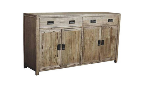 WAREHOUSE 1700(W) 4 DOORS / 3 DRAWERS SIDEBOARD (VWR-007) - 830(H) X 1700(W) - KHAKI