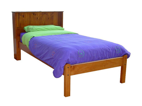SINGLE BOOKEND DELUXE (AUSSIE MADE) BED - ASSORTED COLOURS