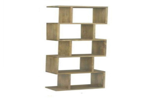 ARGENTO 5 CUBES  SHELVING UNIT  (AG-004)  -  1840(H) x 300(D) -  ANTIQUE NATURAL