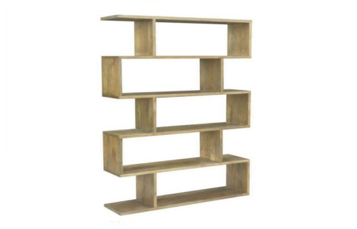 ARGENTO 5 CUBES SHELVING UNIT (AG-005) - 1840(H) x 1200(W) - ANTIQUE NATURAL