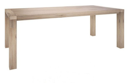 OYSTER BAY DINING TABLE ONLY (VOB-002) 2100(L) X  1000(W) - ASH