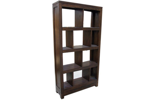 MADRID BOOKCASE - 1800(H) X 900(W) - BROWN