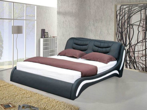QUEEN KANTEY  LEATHERETTE  BED  (CD040) - ASSORTED COLORS AVAILABLE