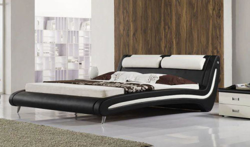 QUEEN EVA   LEATHERETTE  BED  (CD043) - ASSORTED COLORS AVAILABLE