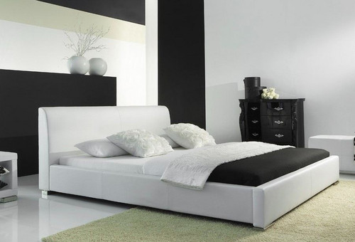 QUEEN  FOBIS LEATHERETTE BED (CD063) - ASSORTED COLORS   AVAILABLE