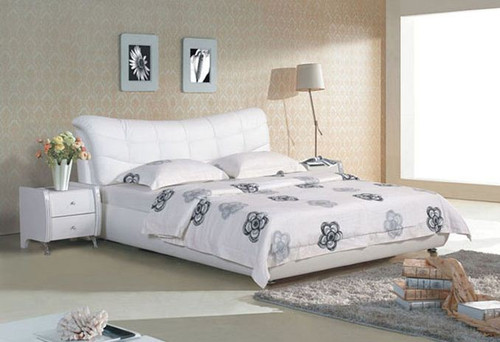 KING MURFY LEATHERETTE   BED  (CD068) -  ASSORTED COLORS AVAILABLE