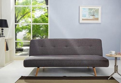 STUDIO CLICK - CLACK FABRIC SOFA BED - CHARCOAL