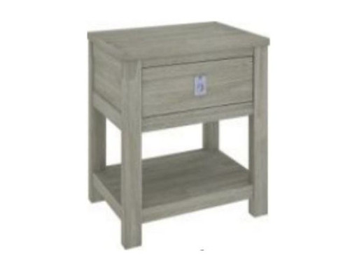 BEACHROAD  1 DRAWER  BEDSIDE TABLE  WITH SHELF  (VBC-006)   - SEASIDE