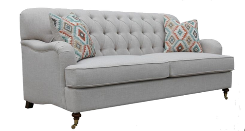 PARIS  TWO SEATER (2S)   FABRIC   LOUNGE -  (MODEL - 6-12-15-18-9-4-1) AS PICTURED