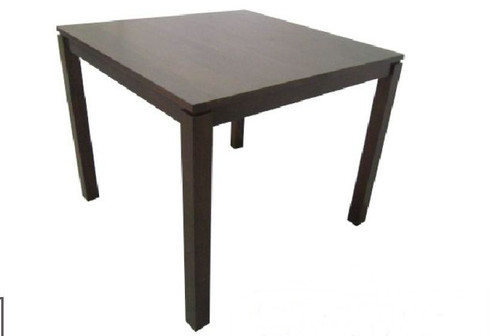 CUBIST (VCT-025) SQUARE DINING TABLE 900(L) x 900(W) - LIGHT HONEY (LIGHTER THAN PICTURED)