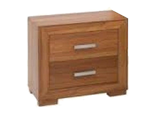 GRANSVILLE  2 DRAWERS BEDSIDE TABLE    - TASMANIAN OAK